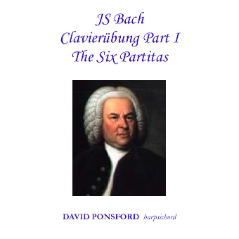 Cover artwork for J.S.Bach: Clavierübung Part I - The Six Partitas