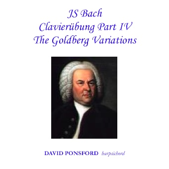 Cover artwork for J.S. Bach: Clavierübung Part IV - The Goldberg Variations