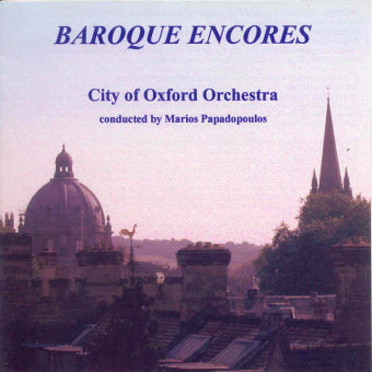 Cover artwork for Baroque Encores 1