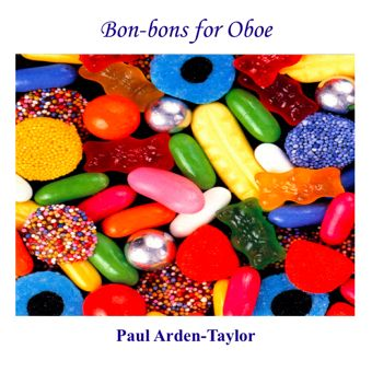Cover artwork for Bon-Bons for Oboe