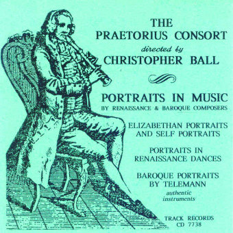 Cover artwork for Portraits in Music