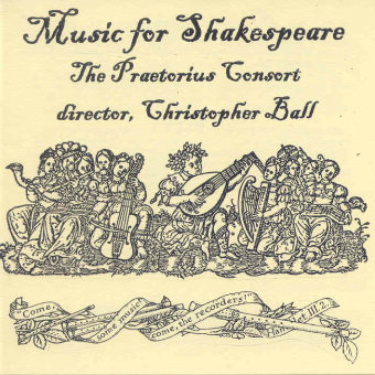 Cover artwork for Music for Shakespeare