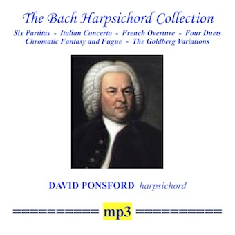 Cover artwork for The Bach Harpsichord Collection