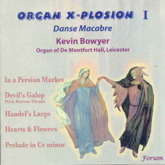 Cover artwork for Danse Macabre - Organ X-Plosion 1