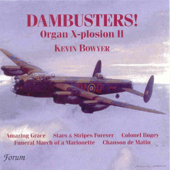 Cover artwork for Dambusters! Organ X-Plosion 2