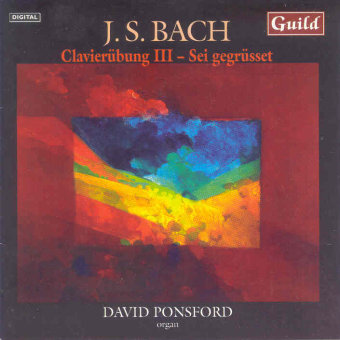 Cover artwork for J.S. Bach: Clavierübung III & Sei Gegrüsset Variations