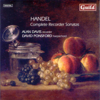 Cover artwork for Handel: The Complete Recorder Sonatas & Suite No. 7