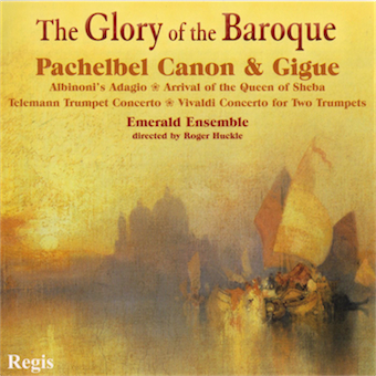 Cover artwork for The Glory of the Baroque - Emerald Ensemble